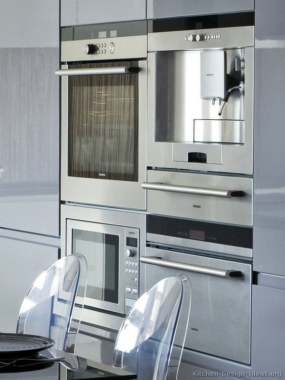 kitchen: integrated applainces