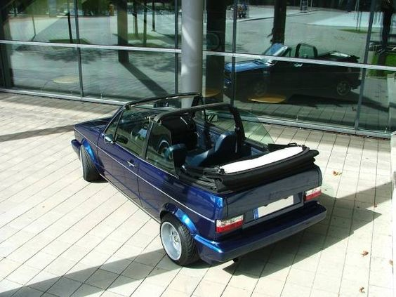 images of shortie cars | Auto VW golf 1 cabrio gti Sommerreifen von shorty