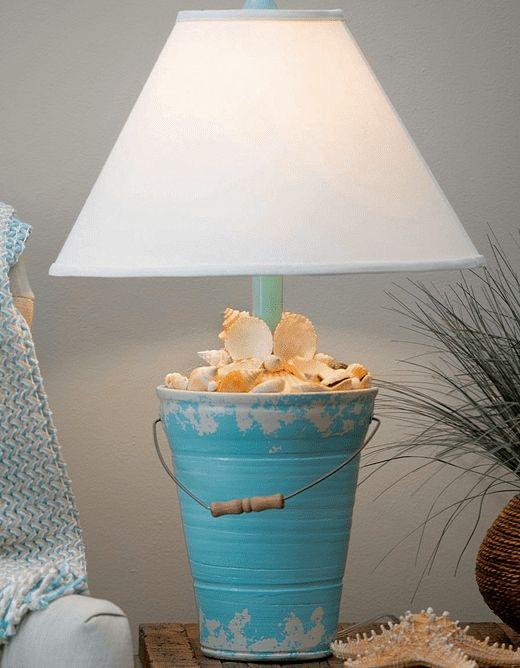 Best Whimsical Novelty Table Lamps With A Coastal Beach Nautical Theme In 2021 Beach Lamps Beach House Decor Lamp