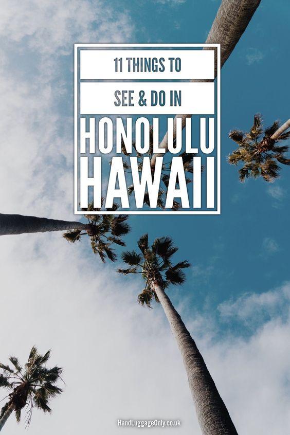 41c830029e015798d29b6331b9911ce1 - 12 Perfect Itineraries For Honolulu, Hawaii