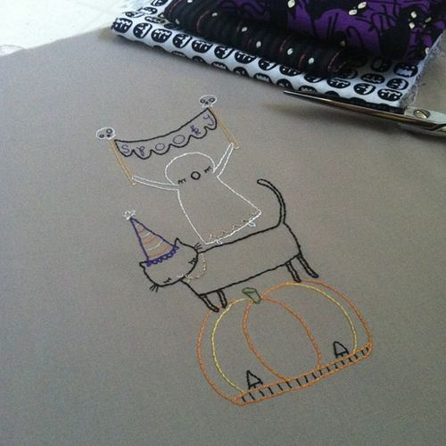 Halloween stitch-a-long