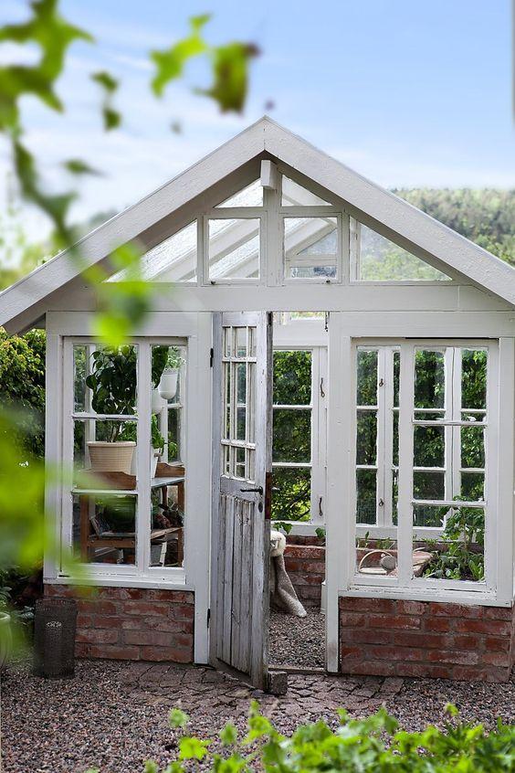 fönster växthus