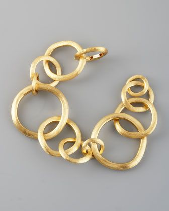 Jaipur Gold Link Bracelet, Large by Marco Bicego at Neiman Marcus.