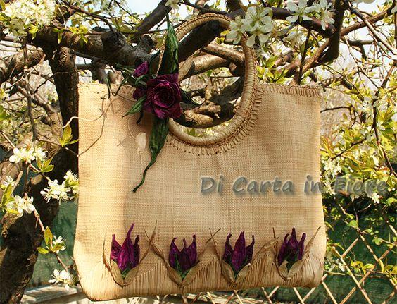 Una romantica borsa per l'estate! : Borsette di dicartainfiore