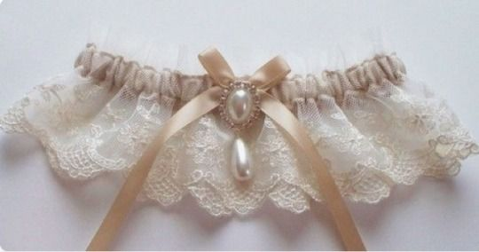 White Garter Set Lace Bridal Garter Champagne Garter Rustic Garter Cream Nude Garter Plus Size Garter Beige Bridal Garter Toss Garter