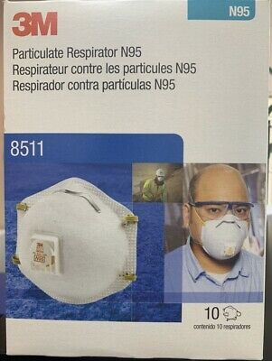 3m n95 particulate respirator masks 8511