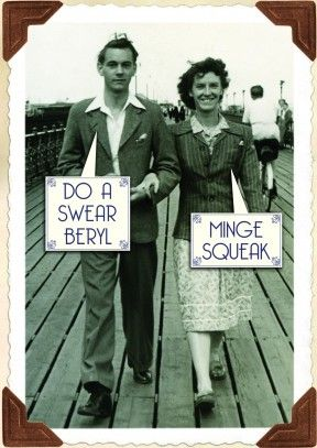 Minge Squeak  Rude General Card  A hilariously rude Valentine's or anniversary card for your boyfriend, girlfriend, husband or wife.