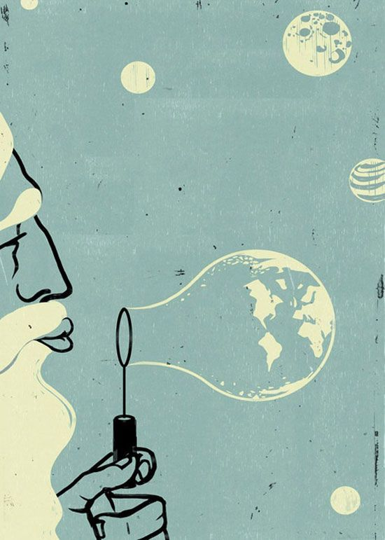 A Collection Of Surreal Old-School Illustrations 12