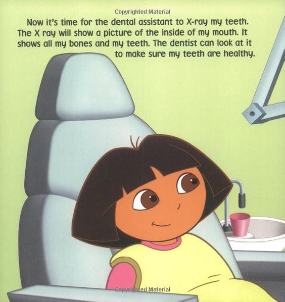 Show Me Your Smile! Dora the Explorer Christine Ricci