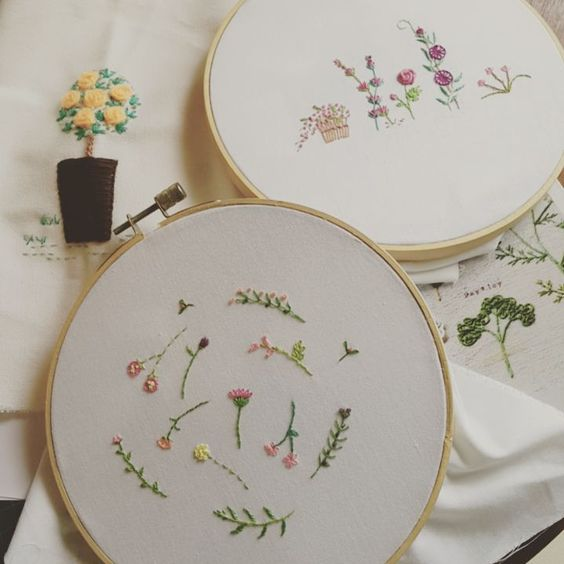 #embroidery #embroideryart #handembroidery #art #handmade #needlework #diy #craft #handicraft #stitching #embroideryfloss  #needlecraft #hobby #idea #stitch