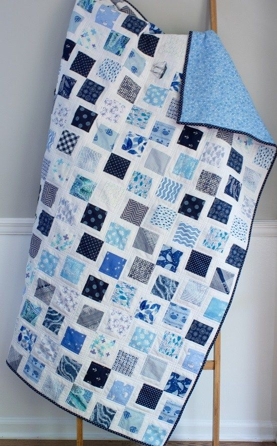 Make A Stunning Quilt From A Simple Square Lindy J Quilts Scrap Quilt Patterns Easy Quilt Patterns Easy Quilts
