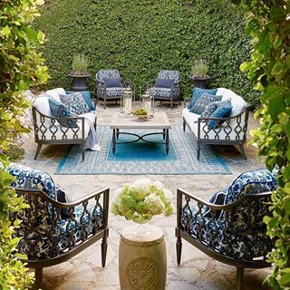 Kristy Wicks Off To The Nursery With This Dreamy Courtyard In