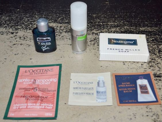 Lot of 6 Assorted Travel Sample Products Physique Gillette L ...
