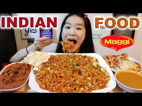 Indian Maggi Noodles Papadum Mi Goreng Fried Noodles Mutton Curry Mukbang W Asmr Eating Sounds Yo Indian Food Recipes Chicken Tikka Masala Tikka Masala Butter chicken, naan, biryani, curry, samosa & palak paneer • mukbang eating show. indian maggi noodles papadum mi