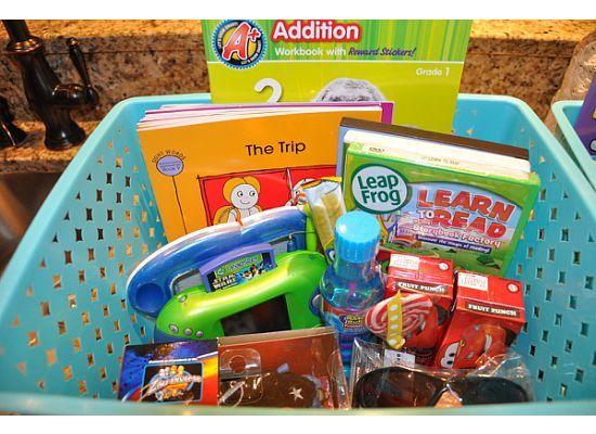 Road trip baskets