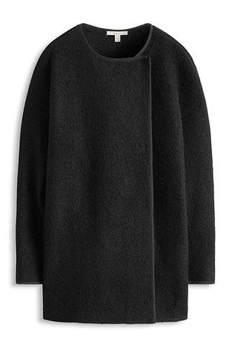 Esprit / Manteau en laine bouillie