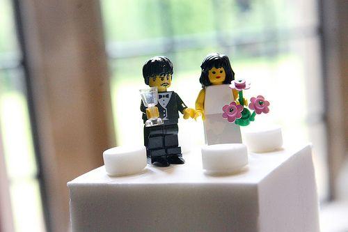 Decora tu boda con lego