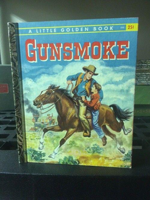 19 95 Vintage Little Golden Book Gunsmoke A 1st Edition Great G1 30off Rarebook Antiq Little Golden Books Vintage Coloring Books Antiquarian Books