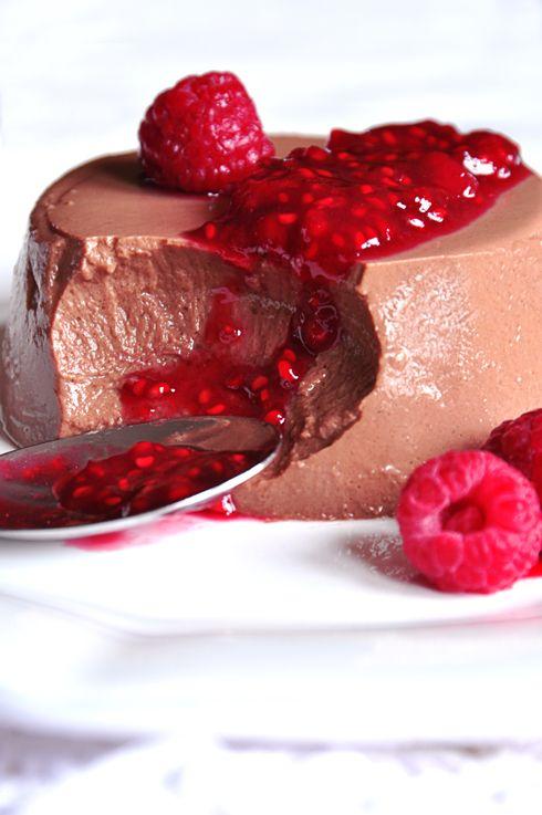 .^. Lacuisinedenathalie.com - Panacotta au chocolat