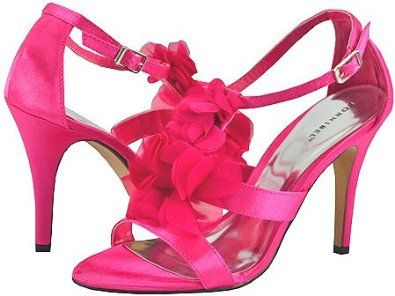 Amazon.com: Bonnibel Amanda-1 Hot Pink Women Dress Sandals: Shoes ...