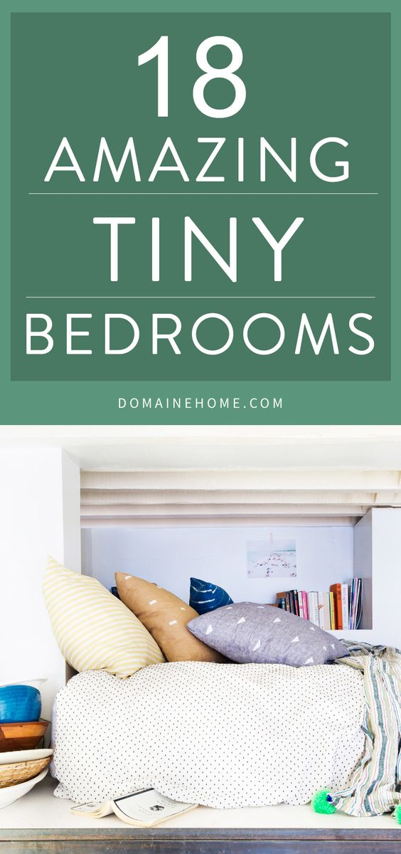 Rooms: 17 Tiny Bedrooms With HUGE Style