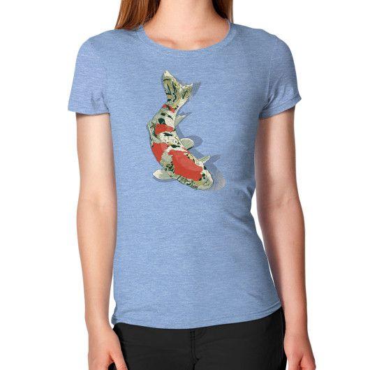Tattooed Koi Women's T-Shirt