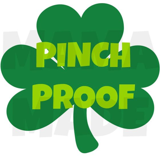 Boy's Pinch Proof Clover St Patty's Day Shirt or by mamamadebows