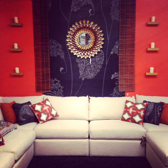 My Wall I designed for Bassett beckham sectional