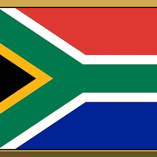 South African Flag Stickers Gifts And Products African Flag South African Flag African