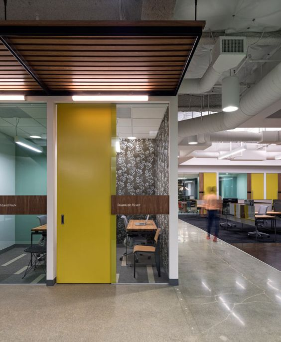 A creative office space for a creative company creative for Office space design companies