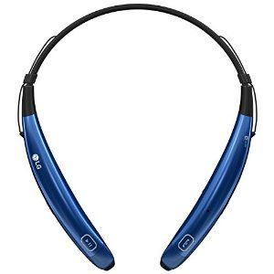 LG - TONE Pro HBS-770 In-Ear Behind-The-Neck Mount Wireless Headphones - Blue