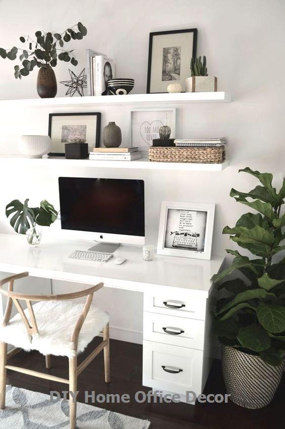 Home Office Decor And Diy Storage Ideas Decor Diy Home Ideas