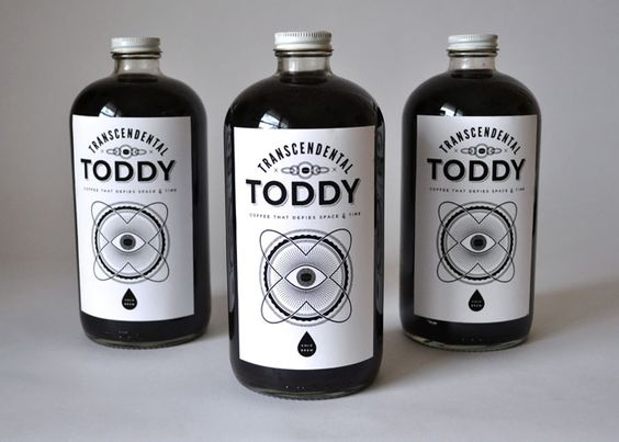 Transcendental Toddy packaging concept, Claire Morales