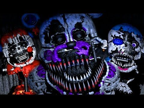 New Nightmare Funtime Animatronics Attack Baby S Nightmare Circus Classic Mode New Game Youtube New Nightmare Fnaf Fnaf Wallpapers