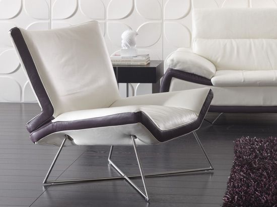 mentosa leather chair from dania great chairs pinterest chairs