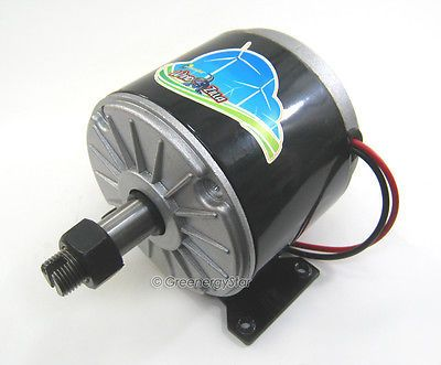 motor generator generators and wind turbine on