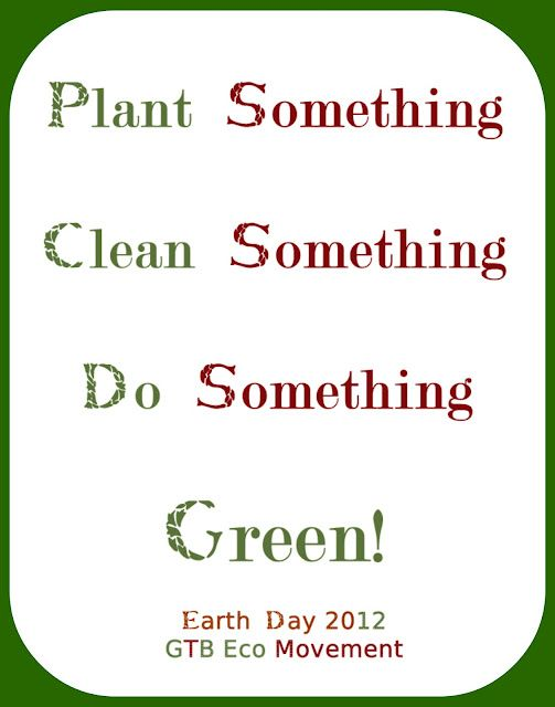 Earth Day Message 2012