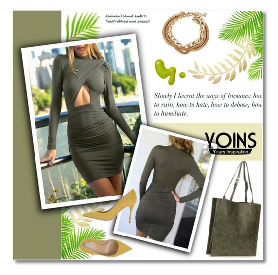 """""""YOINS"""" by janee-oss ❤ liked on Polyvore featuring mode, Michael Kors en Sergio Rossi"""
