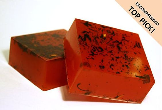 Red Lychee Soap  Lychee Red Tea with Chocolate by LBAYBathandBody, $5.00