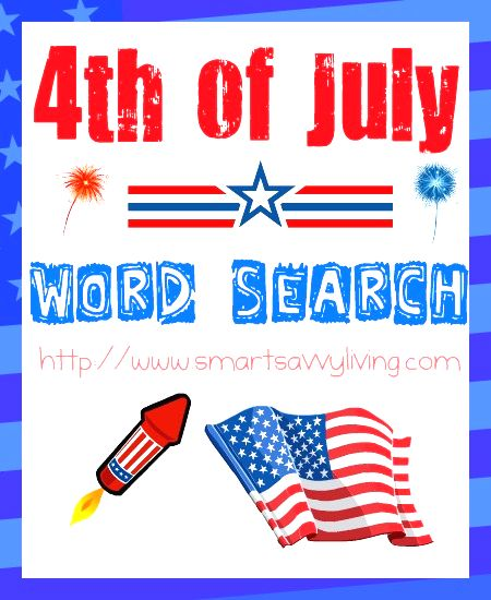 july 4th words