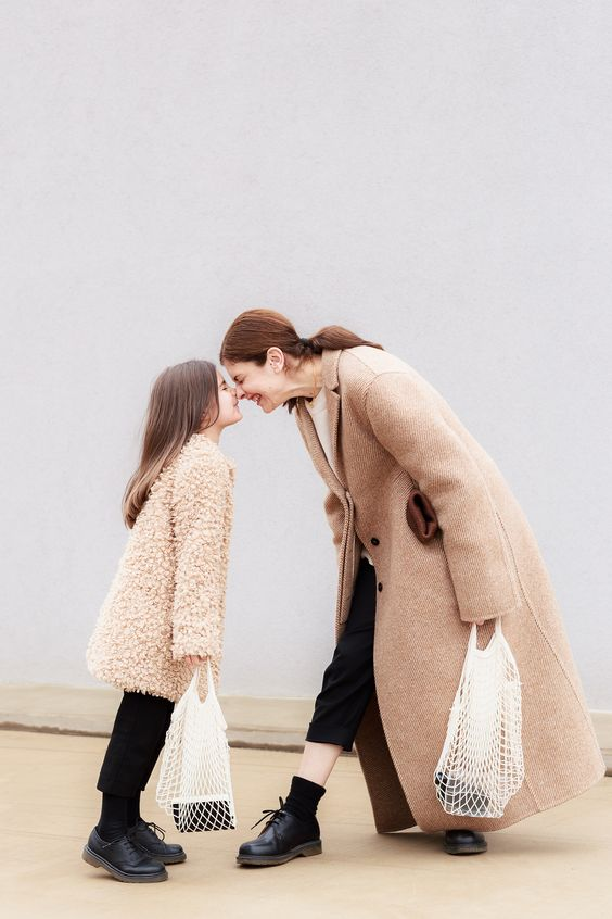 Mother - Daughter Dr Martens Street Style feat. Jil Sander Coat and Dr.Martens shoes | EdgyCuts