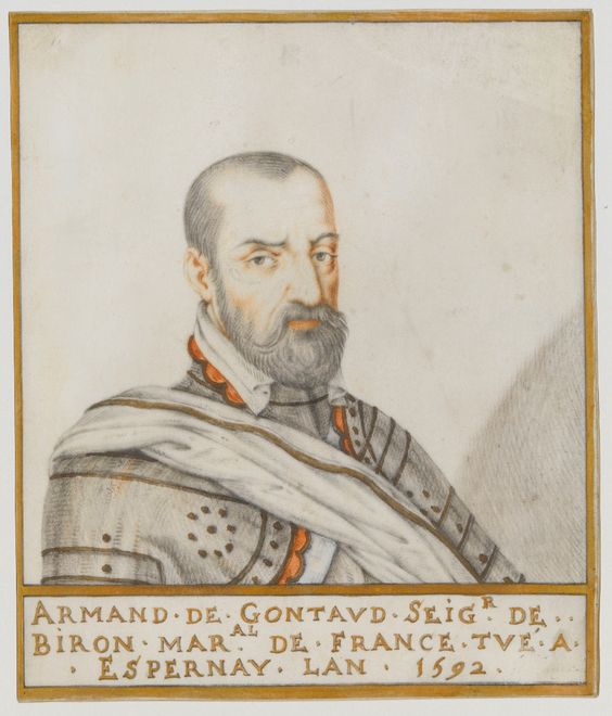 Portrait of Armand de Gontaud, baron de Biron