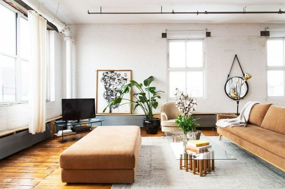 The Open-Plan Living Room: