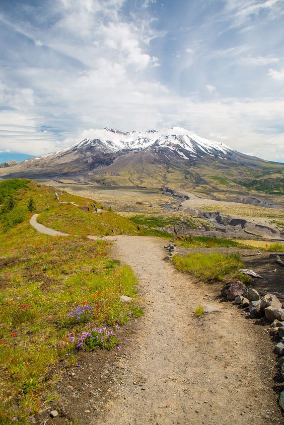 Hiking Mount St Helens - Boundary Trail #1
