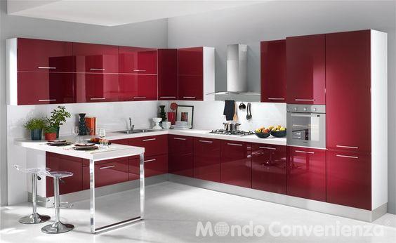 Cucina Katy - Mondo Convenienza  idee per casa ...