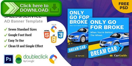 cool Shine On the web Purchasing HTML5 Google Banner Ad (Ad - car ad template