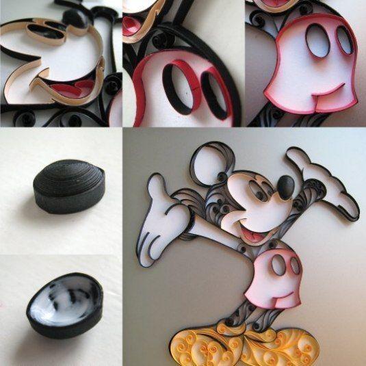Mickey Mouse de filigrana (3)