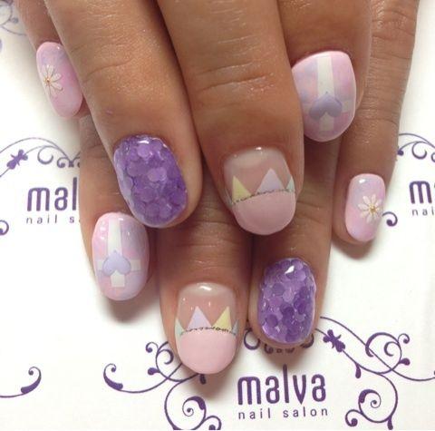 Ank Rougeディレクター おかりえちゃん NEW NAILの画像 | 森絵里香オフィシャルブログ「nail salon malva」Powe…