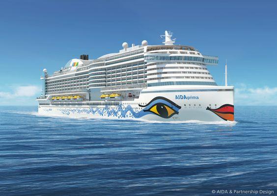 Hier eine Animation der AIDAprima, die ab Oktober 2015 Kreuzfahrten durchführen wird.  Weitere Informationen zu Jungfernfahrt und weiteren Kreuzfahrten finden Sie unter http://www.meermomente.de/kreuzfahrten/aidaprima/  #AIDA #AIDAprima #Kreuzfahrten