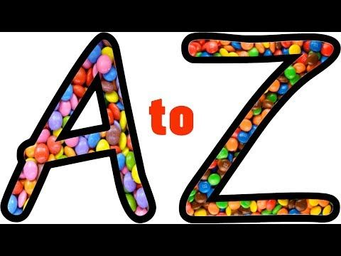 Learn Alphabet A To Z Chocolate Coloring And Drawing Abc Songs For Child Learning The Alphabet Abc Nursery Rhymes Abc Songs